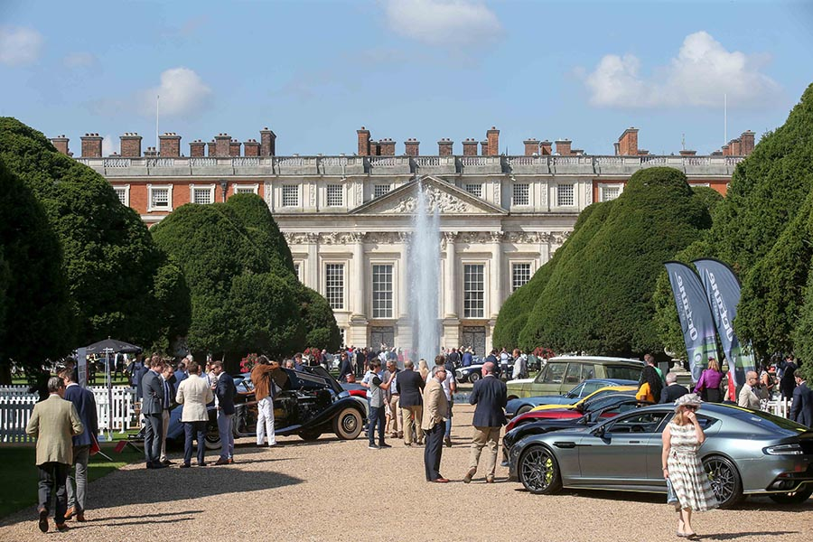 Concours of Elegance at Hampton Court Palace