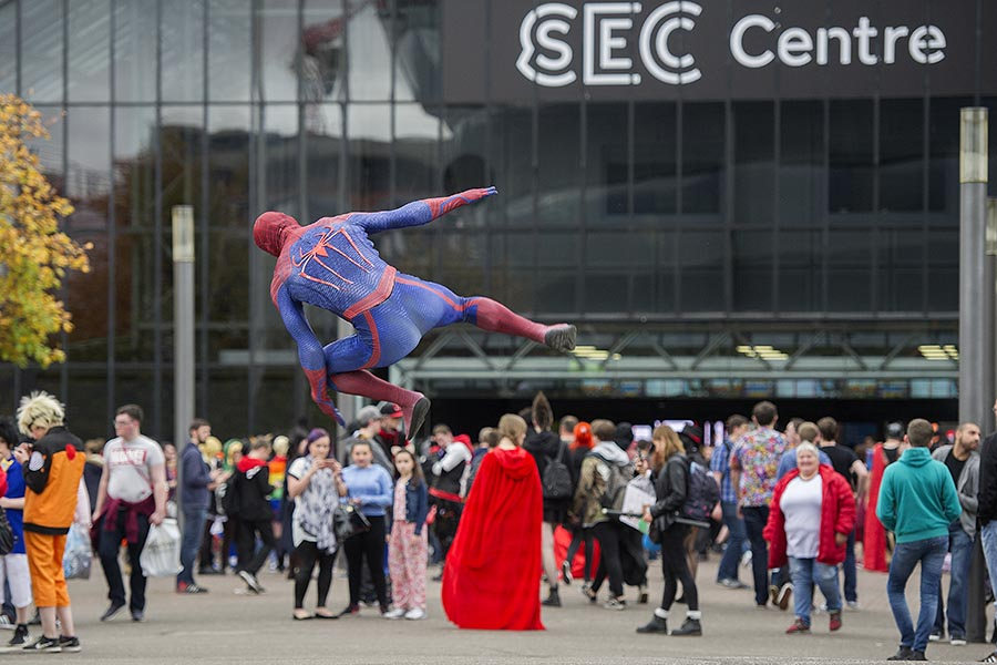 Comic con at SEC