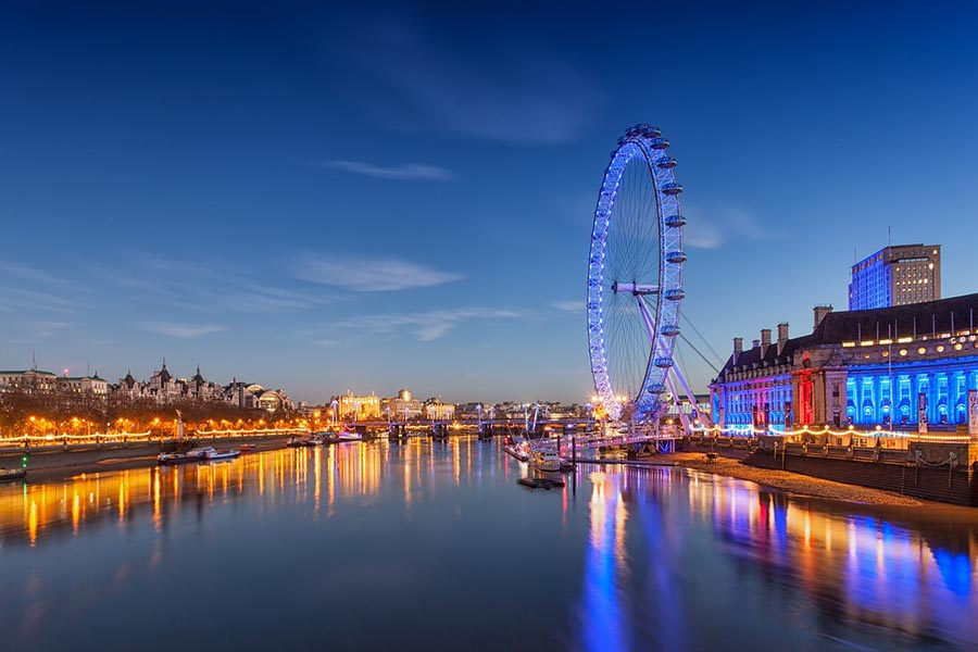 London Eye skyline