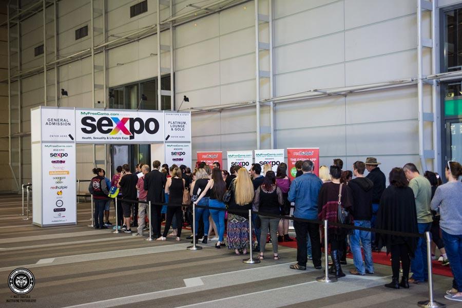 Sexpo entrance