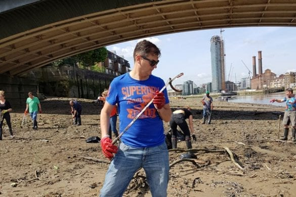Eventprofs take part in River Thames clean-up for charity