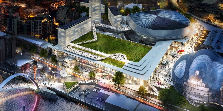 Government backs £250m convention centre and arena development on Gateshead Quays