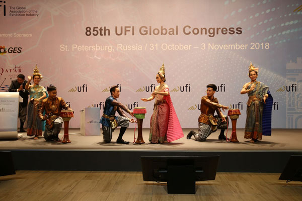 In pictures: the 85th UFI Congress in St Petersburg, Russia