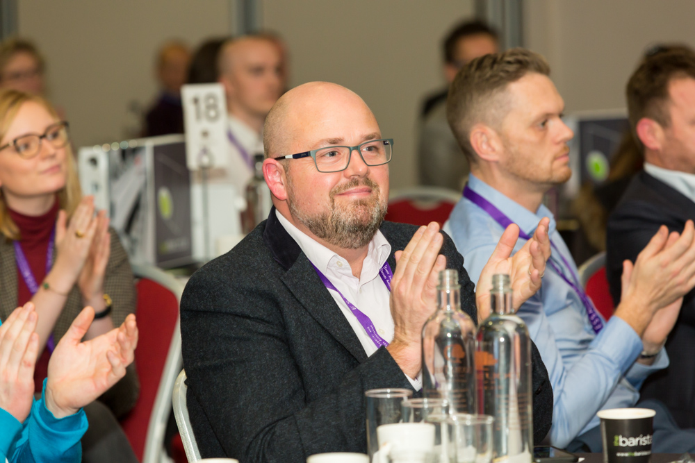 GES' Nick Marshall honoured at biggest ever ESSA Conference & Awards