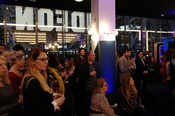 ODEON reopens for events in Leicester Square
