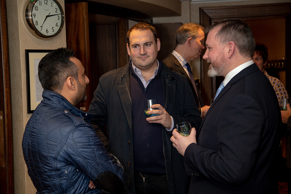 Victory Services Club marks the launch of its Club Gin with reception and dinner