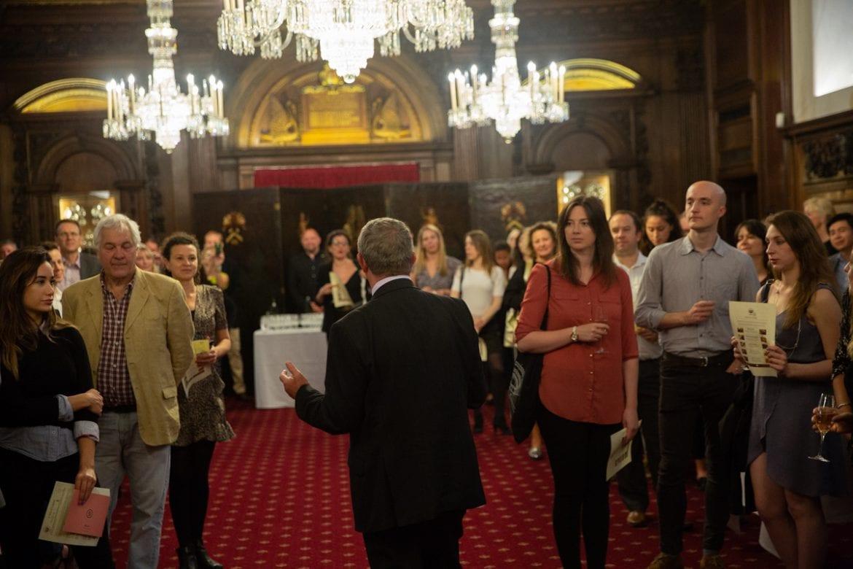 Taste of the Vine hosts cheese-making and wine-tasting challenge in Vintners Hall