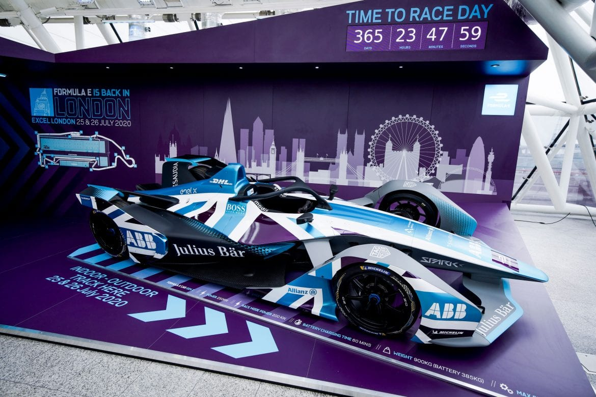 Formula E hosts official unveiling at ExCeL London