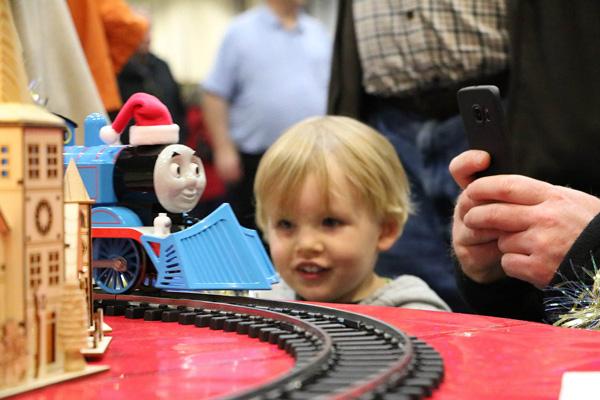 Railway show returns to arena
