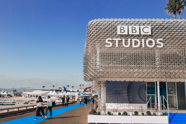 BBC Studios unveils recycled stand