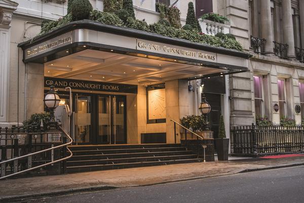 De Vere Grand Connaught Rooms reveals £700k renovation