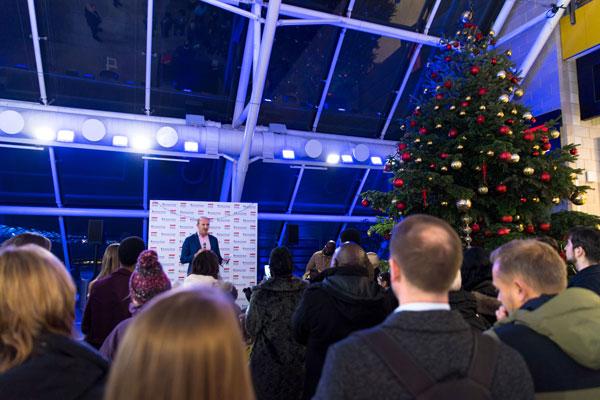 Richard House Children's Hospice light up ExCeL London