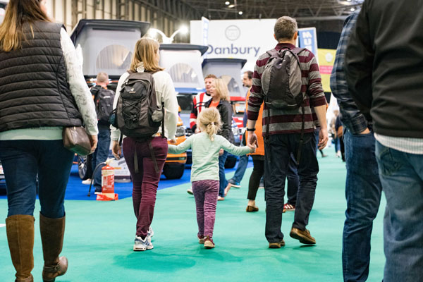 The Caravan, Camping and Motorhome Show returns to NEC