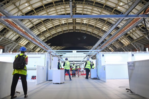 Manchester Central praised by NHS and military as hospital prepares to open